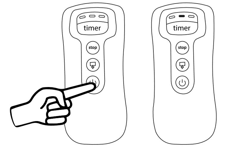 Démarrage Beurer Fm150