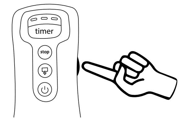 Réglage intensité Beurer FM 150