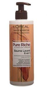 Loréal pure riche shampoing sans sulfates