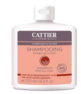 cattier shampoing bio
