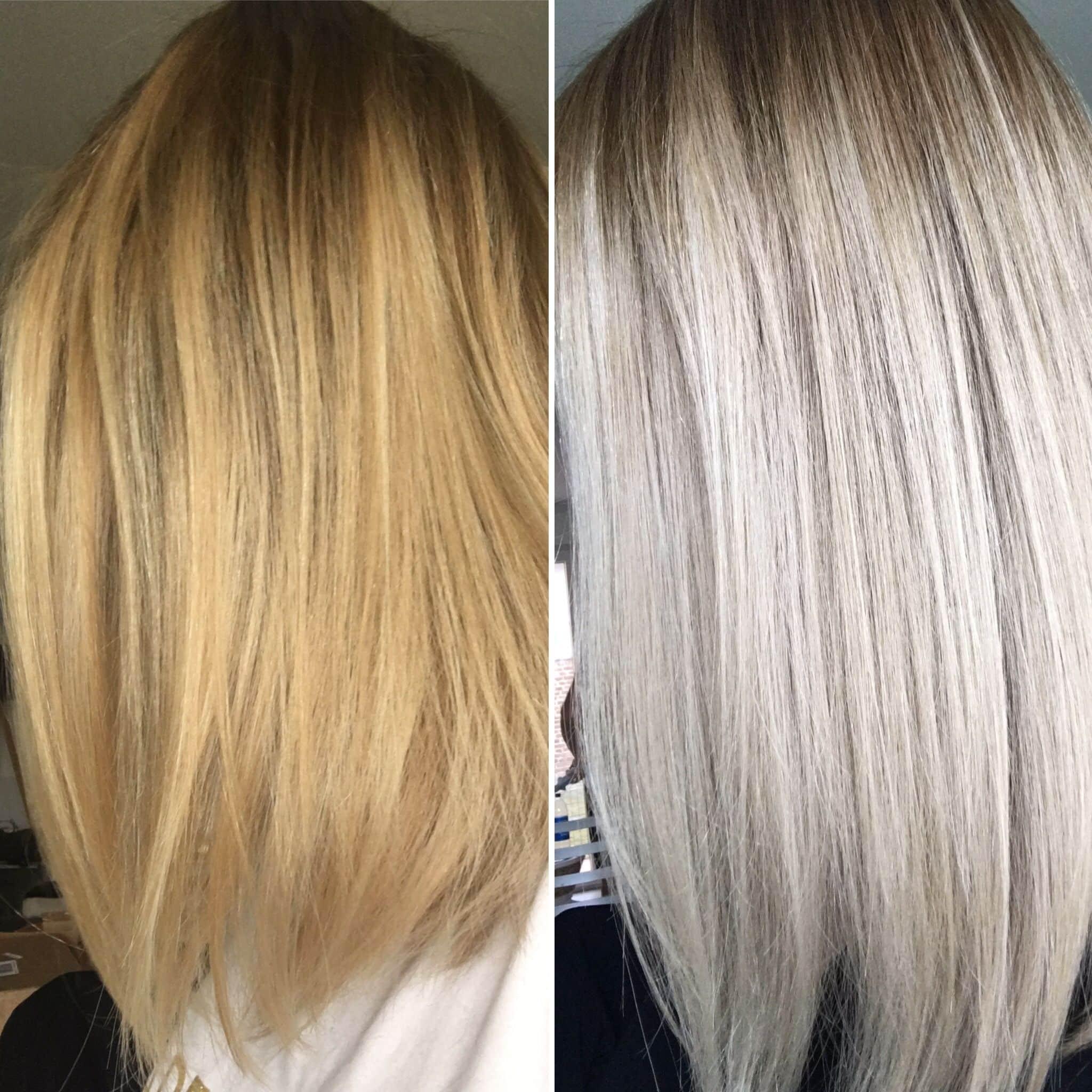 shampoing-bleu-violet-avant-après